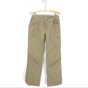 Duluth Trading Co. Canvas Pants Beige Tan 4 B6